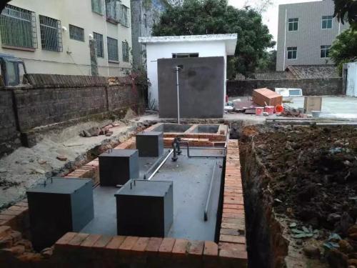 鹤壁污水处理设备案例