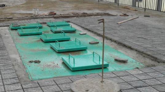 地埋式污水处理设备案例