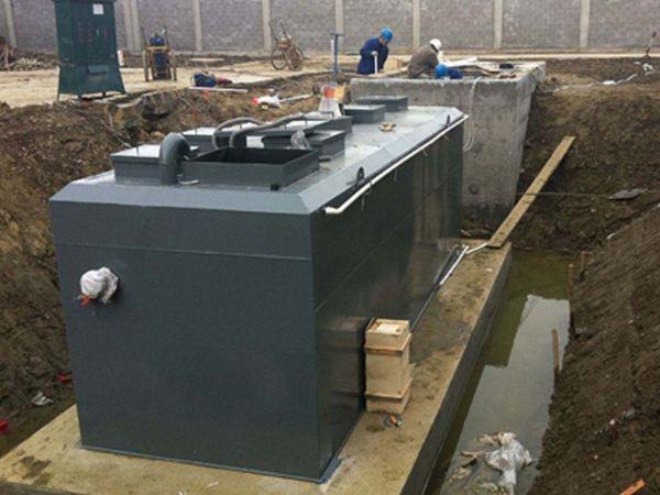 四川达州污水处理设备案例