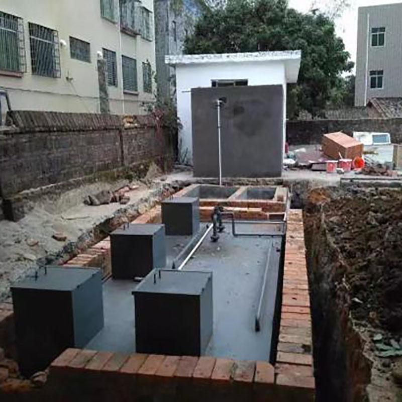四川成都生活污水处理设备案例