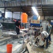 河南洛阳塑料清洗污水处理设备案例