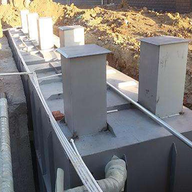 山东青岛发制品污水处理设备案例