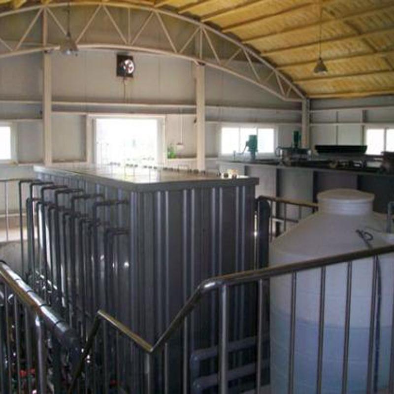 辽宁鞍山垃圾渗滤液处理设备案例